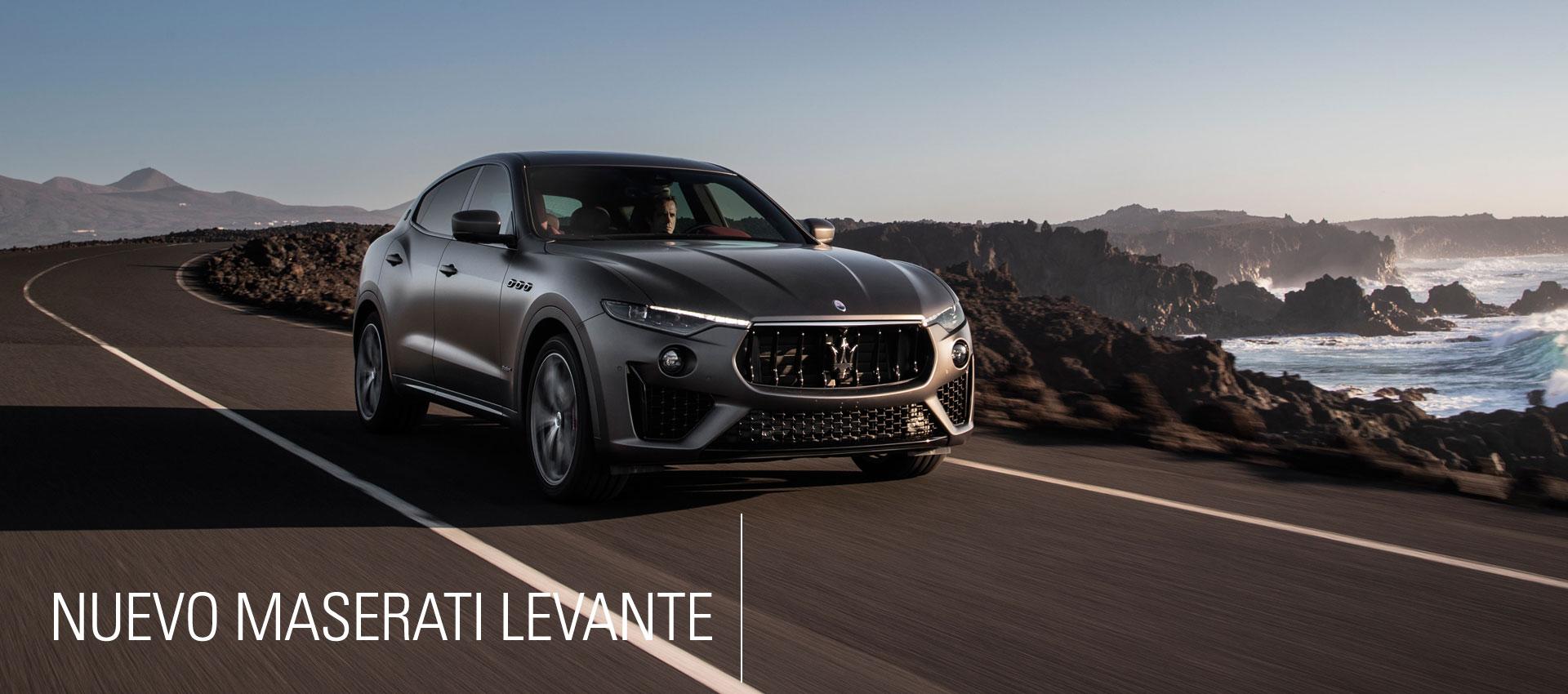 Nuevo Maserati Levante